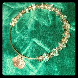 Alex & Ani Swakorski beaded bracelet